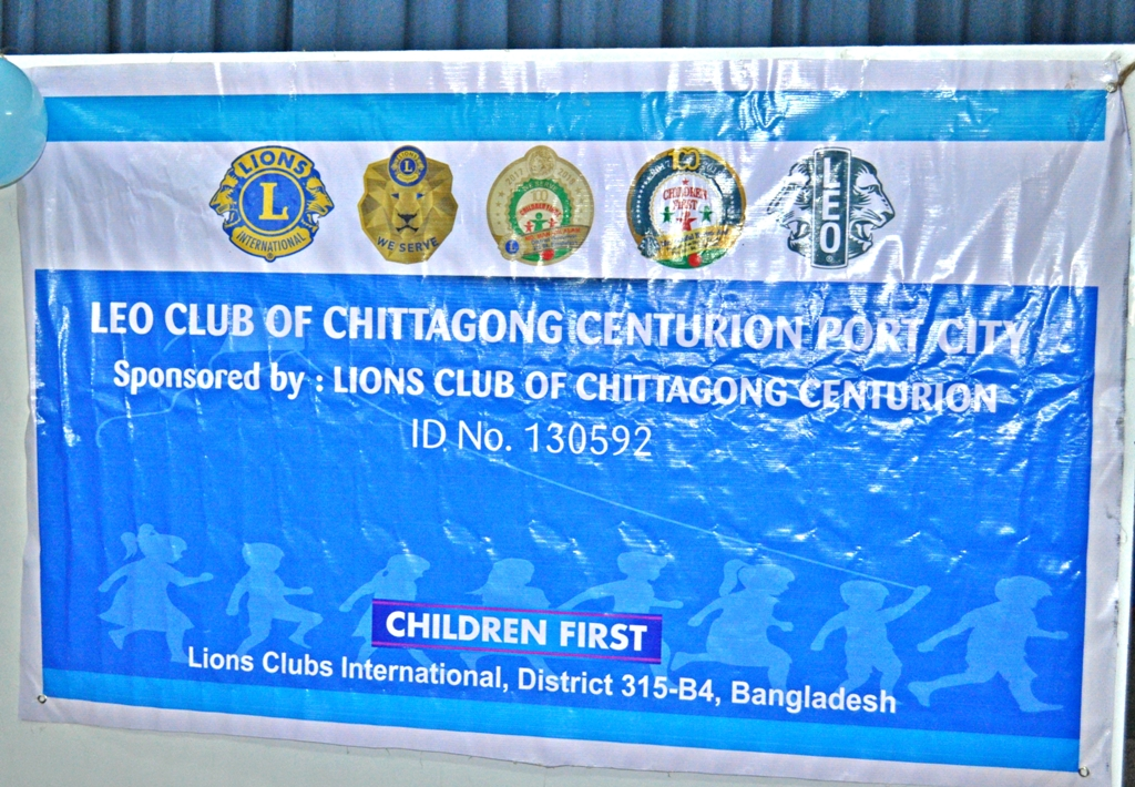 Lions Club Eye sight and blood grouping camp for CS kids