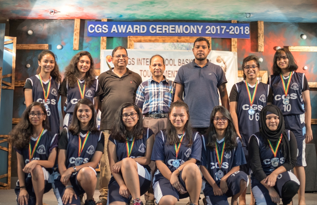 CGS Inter School Basketball Tournament 2018