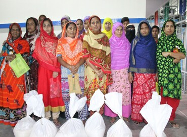 CGS-Dhaka (CS): Ration, Ramadan Pack & Eid Costume Distribution