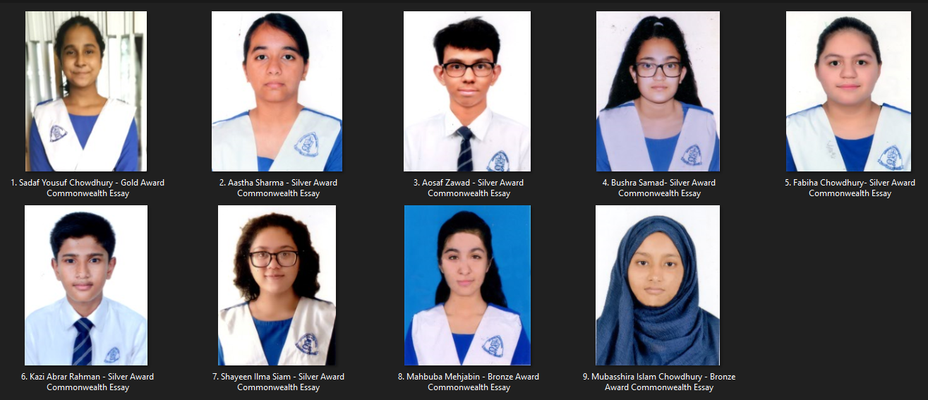 Royal Commonwealth Essay Competition Winners 2020