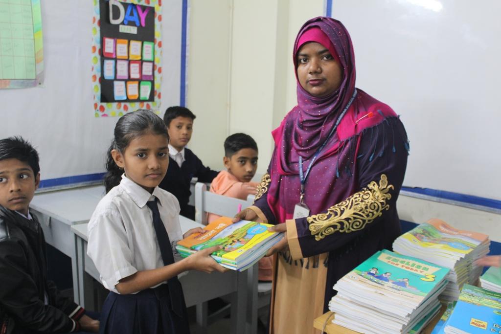 CGS-Dhaka (CS): 1st Day of School